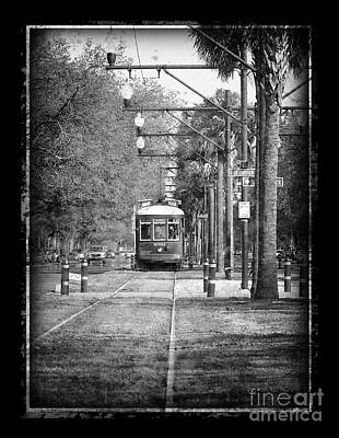 New Orleans Streetcar Art Print by Jeanne  Woods