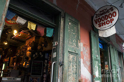Voodoo Shop Photograph - New Orleans Voodoo Shop by Jeanne  Woods