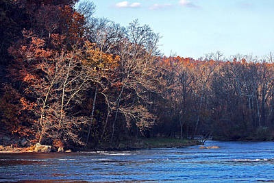 New River At Foster Falls Art Print