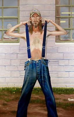 Levi S Painting - New Suspenders by GPaul Lucas