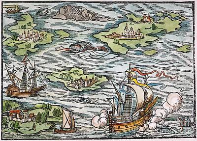 New World: Discovery, 1550 Art Print