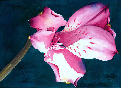 Painting - New Year Flower by Ken Powers