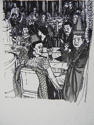 New Year's Eve 1950's Art Print
