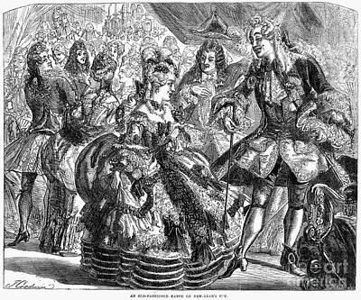 New Years Eve Ball, 1866 Art Print by Granger