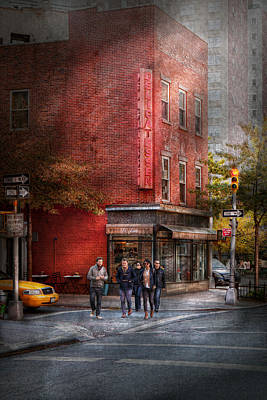 Photograph - New York - Store - The Old Delicatessen by Mike Savad