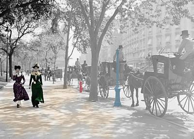 New York 1900 Art Print