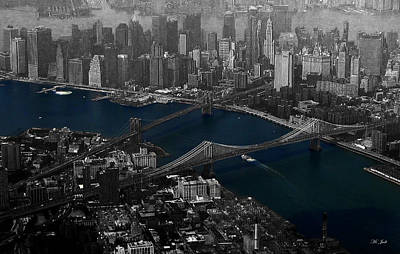 Photograph - New York Aerial by Ms Judi