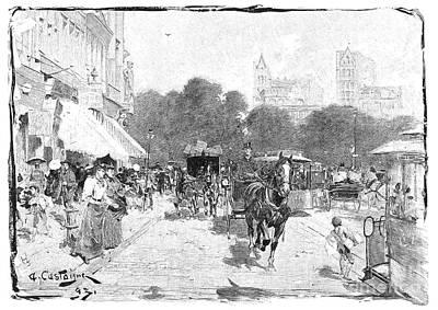Fourteenth Photograph - New York: Broadway, 1912 by Granger