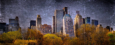New York Buildings Original by Svetlana Sewell