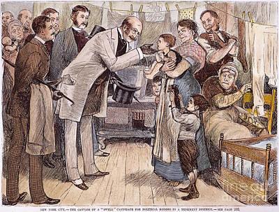 New York: Canvassing, 1881 Print by Granger