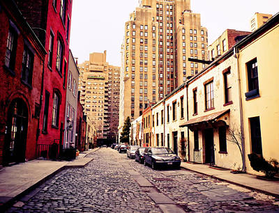 Stables Photograph - New York City - Greenwich Village by Vivienne Gucwa
