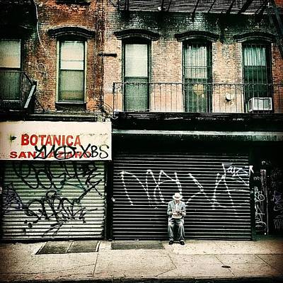 Manhattan Photograph - New York City - Lower East Side by Vivienne Gucwa