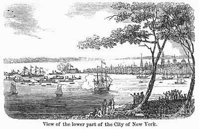 Steamboat Photograph - New York City, C1830 by Granger