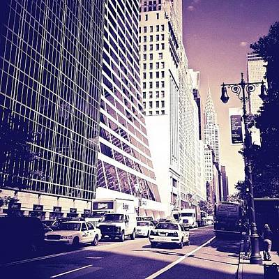 Nyc Photograph - New York City Dreamscape by Vivienne Gucwa
