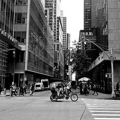 Classic Photograph - New York City Flow Of Life by Vivienne Gucwa