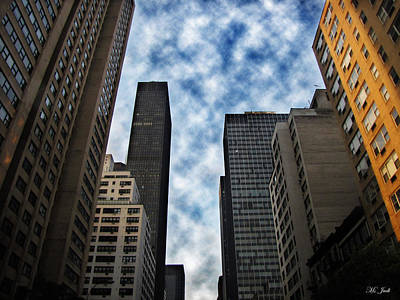 Photograph - New York City High Rise Buildings by Ms Judi