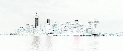 New York City Negative Art Print
