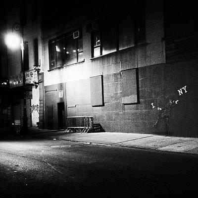 Nyc Wall Art - Photograph - New York City Noir by Vivienne Gucwa