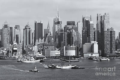 Photograph - New York City Parade Of Sail II by Clarence Holmes