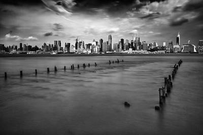 Skylines Royalty-Free and Rights-Managed Images - New York City by Rick Berk