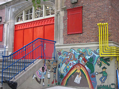 Photograph - New York City School by Melissa Partridge