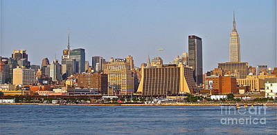 Photograph - New York City Skyline by Carol  Bradley