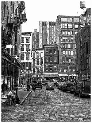 New York City Street Scene Art Print by Scott Massey