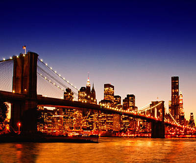 New York Cityscape Art Print by ©jesuscm
