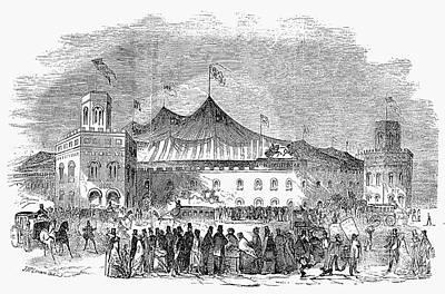 New York: Hippodrome, 1853 Art Print