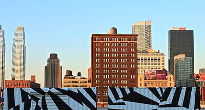 New-york Landmarks Art Print by Jordan Drapeau