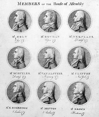 New York Legislature, 1798 Art Print