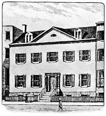 Hamilton-class Photograph - New York: Mansion by Granger