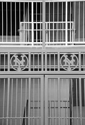 New York Mets Jail Print by Rob Hans