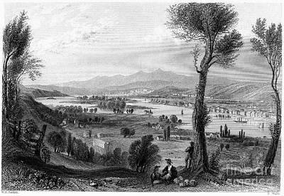 New York: Mount Ida, 1839 Art Print