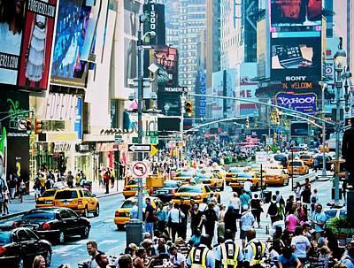 Photograph - New York New York by Elizabeth Marks