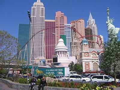 New York New York Las Vegas Original by David Plummer