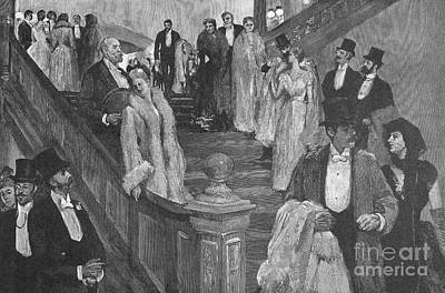 New York: Opera, 1890 Art Print