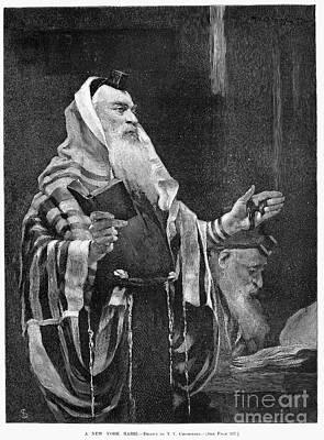 New York Rabbi, 1890 Art Print by Granger