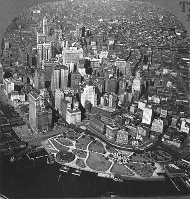 Photograph - New York Skyline, C1920 by Granger