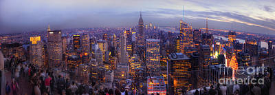 Photograph - New York Skyline Panorama by Yhun Suarez