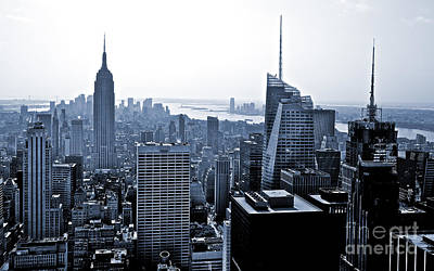 New York Skyline Art Print by Thomas Splietker