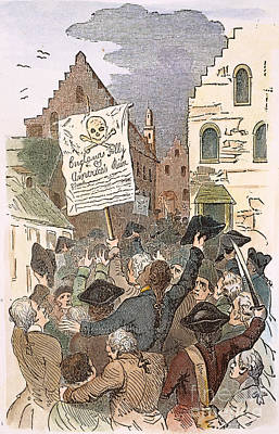 New York: Stamp Act, 1765 Art Print by Granger