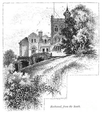 New York State: Villa Art Print by Granger