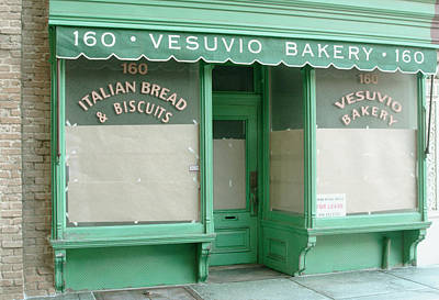 Commercial Archeology Sculpture - New York Storefront Sculpture - Vesuvio Bakery by Randy Hage