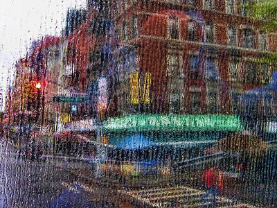 New York Street Art Print by Boss Photographic