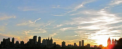 New York Sunset 2 Art Print by Randi Shenkman