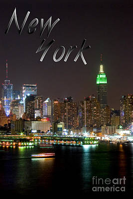 New York Art Print by Syed Aqueel