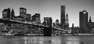 New York Twilight 2 Art Print
