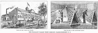 New York: Winery, 1878 Art Print by Granger