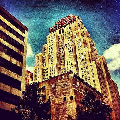 Skyline Wall Art - Photograph - New Yorker Hotel by Luke Kingma
